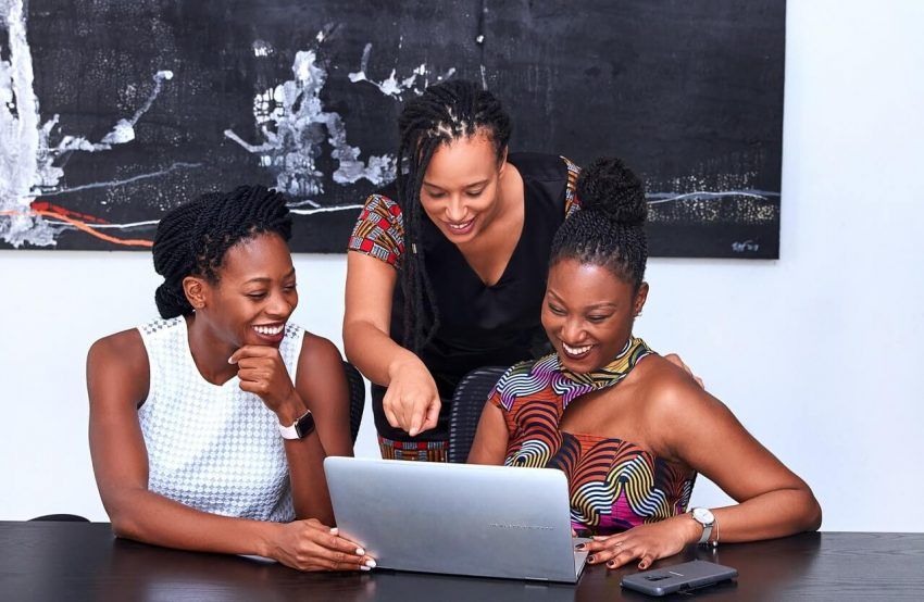 black women are consulting about black-owned business